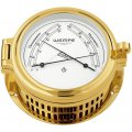 WEMPE Medidor de Confort 140mm Ø (Serie REGATTA)  Comfortmeter gold plated with white clock face