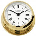 WEMPE Reloj de Yate 95mm Ø (Serie PIRATE II) Yacht clock brass with Roman numerals