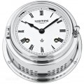 WEMPE Reloj Campana Mecánica 150mm Ø (Serie Bremen II) Bell clock chrome plated with Roman numerals